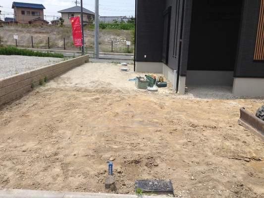 グレースアップ 庭工事 施工前
