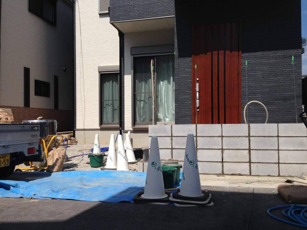 ブロック塀 泉大津市 グレイスアップ