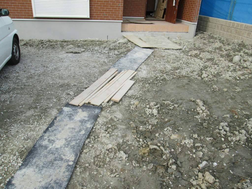 グレイスアップ 施工中 洋風外構 和泉市 岸和田市 堺市