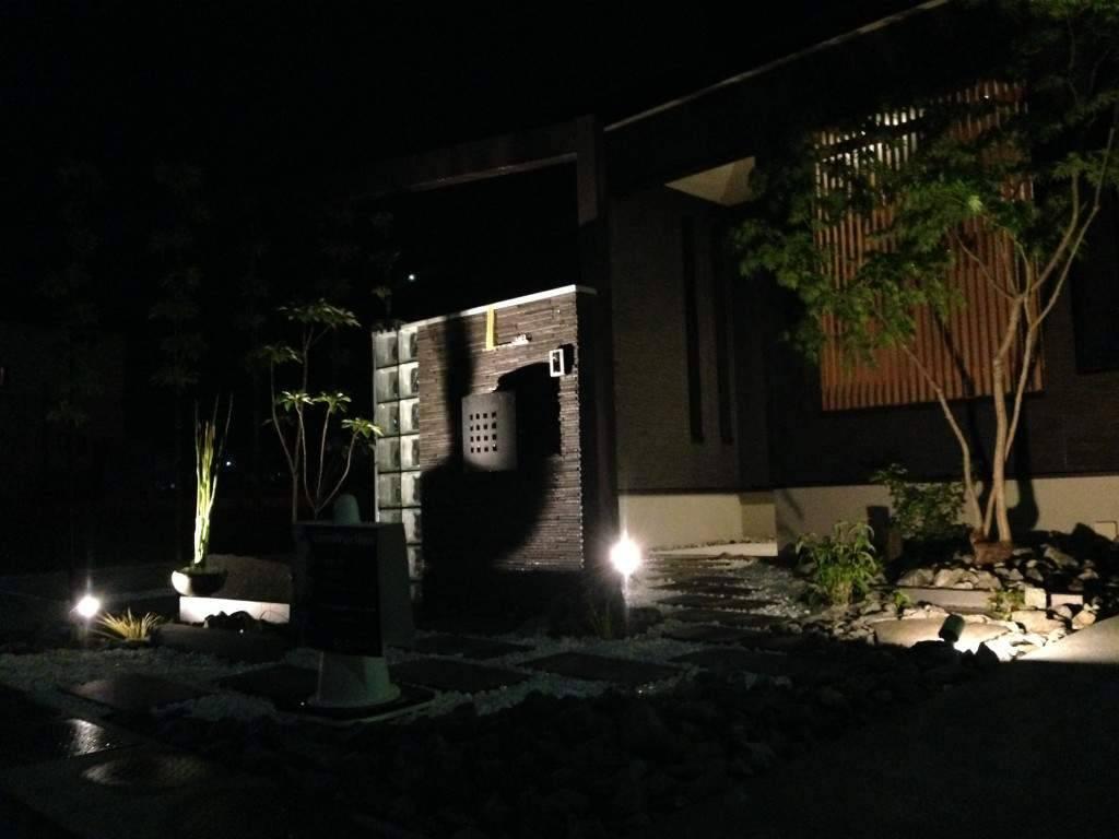 ライトアップ 植栽