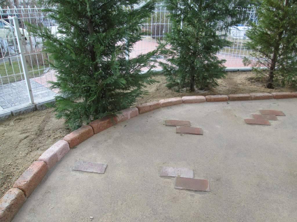 マサ土舗装 庭