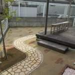 和泉市 真砂舗装/庭の手入れ -施工事例NO.B5-