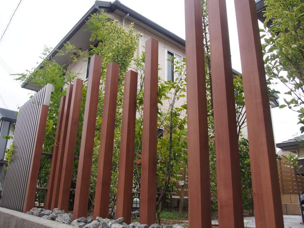 列柱 和泉市 外構