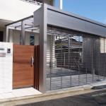 堺市_シンプルで使いやすい新築外構