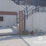 和泉市_ Concrete&Rock 新築外構